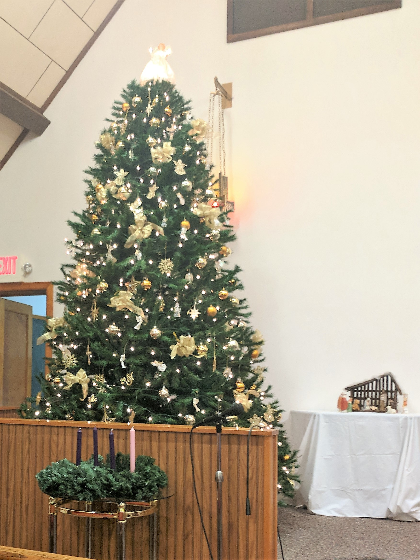 Christmas Decorating 2017 Elim Reformed Church